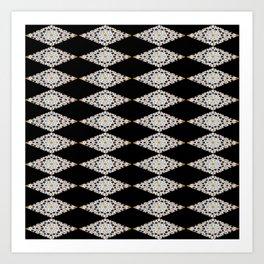 Moroccan mosaic Art Print