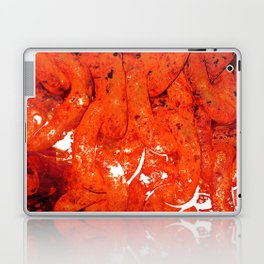 Red Abstract Art - Linked - By Sharon Cummings Laptop & iPad Skin