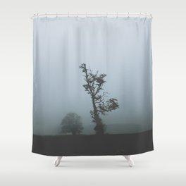 Black Forest Solitude Shower Curtain