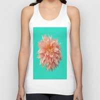 jewish Tank Tops featuring Flower Petals by Brown Eyed Lady