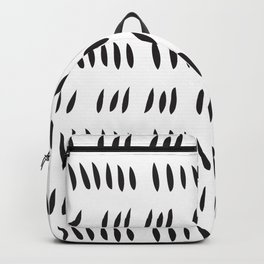 MATISSE ABSTRACT CUTOUTS . WHITE BLACK Backpack