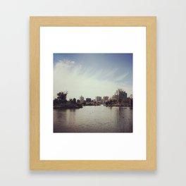 Lake Merritt Framed Art Print