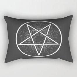 Baphomet Pentagram Star - Satanic sign Rectangular Pillow