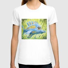 Blue fish T-shirt