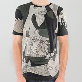 GUERNICA #1 - PABLO PICASSO All Over Graphic Tee