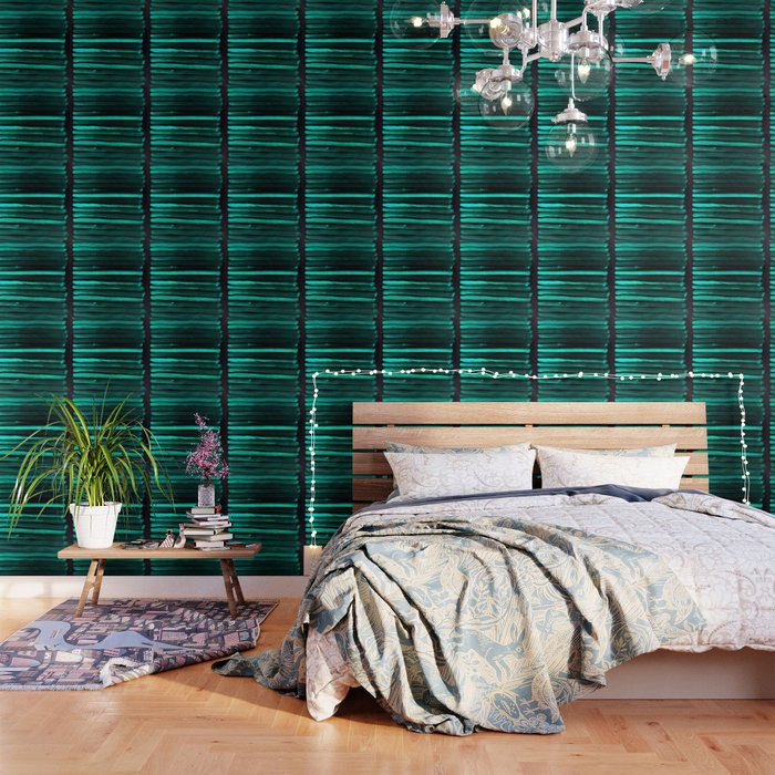 We Have Cold Winter Teal Dreams At Night Wallpaper