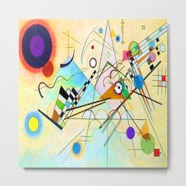 Kandinsky Composition VIII Metal Print