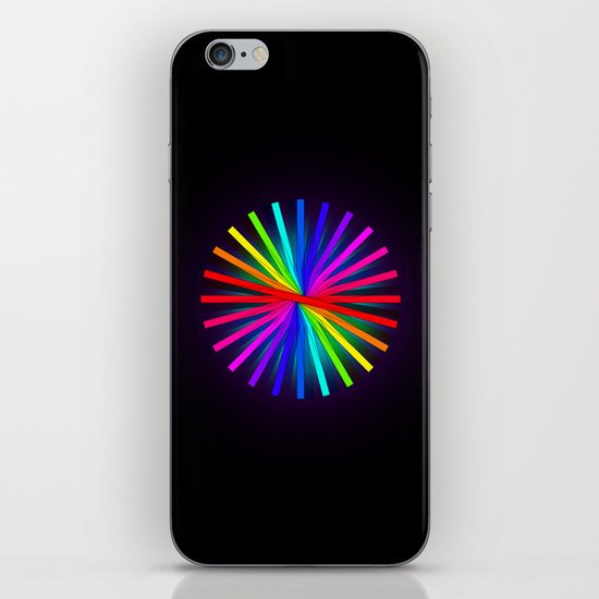 Color Wheel  iPhone & iPod Skin