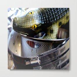 Eye Yai Yai Metal Print