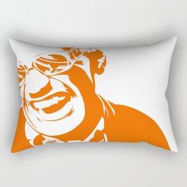 Ray Charles – Orange Rectangular Pillow