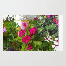 Mixed Annuals Rug