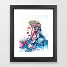 Dragonqueen Framed Art Print