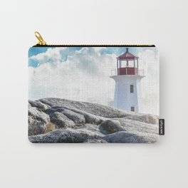 Peggy's Cove lighthead in halifax Carry-All Pouch