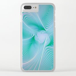 elegant flames -1- Clear iPhone Case