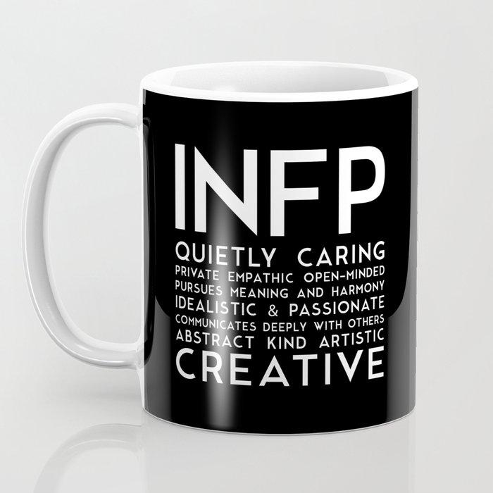 INFP (black version) Coffee Mug