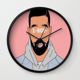 Drake 1-800- Wall Clock