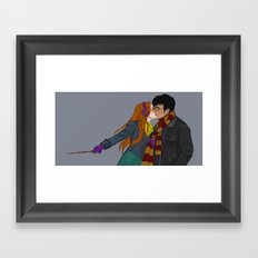 Winter Hinny Framed Art Print