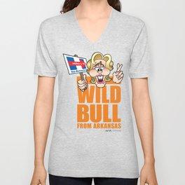 Wild Bill & Hillary Unisex V-Neck