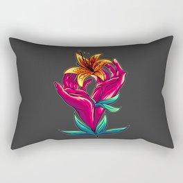 Out Of My Hands Rectangular Pillow