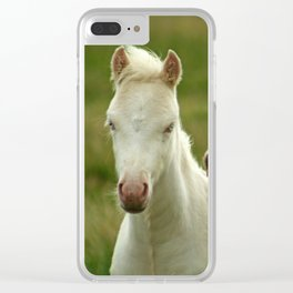 Don't yell at me Clear iPhone Case