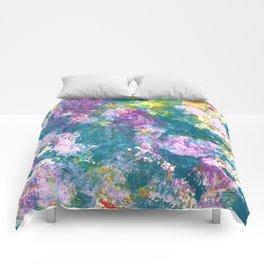 Pansy Flower Garden Comforters