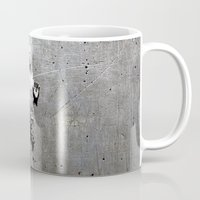 han solo Mugs featuring Han Solo Carbonite by Inara