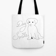 Dog Smile Tote Bag