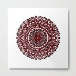 Enticing red Metal Print