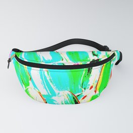 Bright Sugarcane Fanny Pack