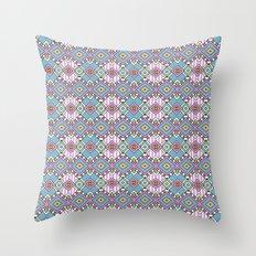 Funky Retro Pattern Throw Pillow
