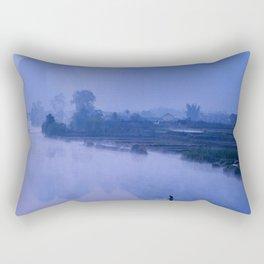 LI RIVER AT DAWN-GUILIN CHINA Rectangular Pillow