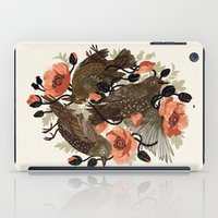 bird iPad Cases featuring Spangled & Plumed by Teagan White