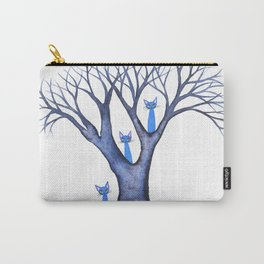 Waterloo Whimsical Cats in Tree Carry-All Pouch