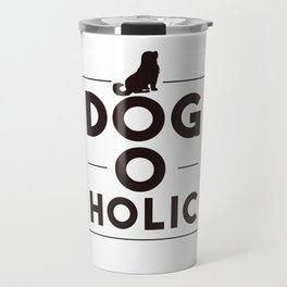 Dogoholic Travel Mug