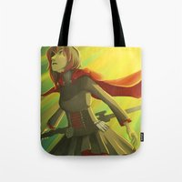 rwby Tote Bags featuring Simple Soul by Bellalyse