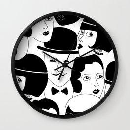20s Glam Wall Clock
