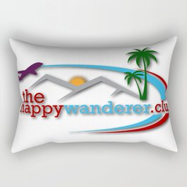 The Happy Wanderer Club Rectangular Pillow