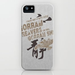 Firefly and Serenity: Gorram It! iPhone Case