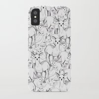 woodland iPhone & iPod Cases featuring Woodland by Lydia Meiying