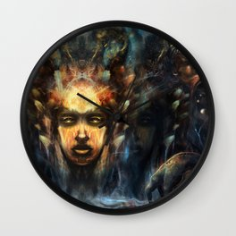 The Visionary Realm Wall Clock