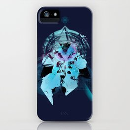 Illuminati Astronaut iPhone Case
