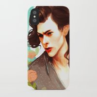 harry styles iPhone & iPod Cases featuring Harry Styles by chazstity