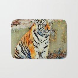 Cute Tiger Baby Bath Mat