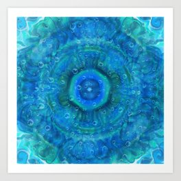 Fractal-Water Art Print
