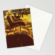 Missing you Badly! Stationery Cards