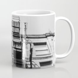 Tilt and Shift fire escape, Manchester Coffee Mug