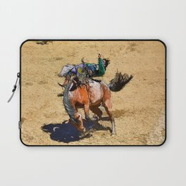 Bronco III - Rodeo Art Laptop Sleeve
