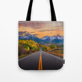 The Road To Telluride Tote Bag