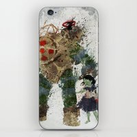 bubbles iPhone & iPod Skins featuring Bubbles by Melissa Smith