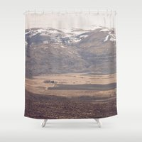 farm Shower Curtains featuring Desert Farm by Jessica Torres Photography